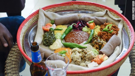 Anthony Bourdain: Parts Unknown - Ethiopia. Beyaynetu, Vegan Ethiopian fasting dish.