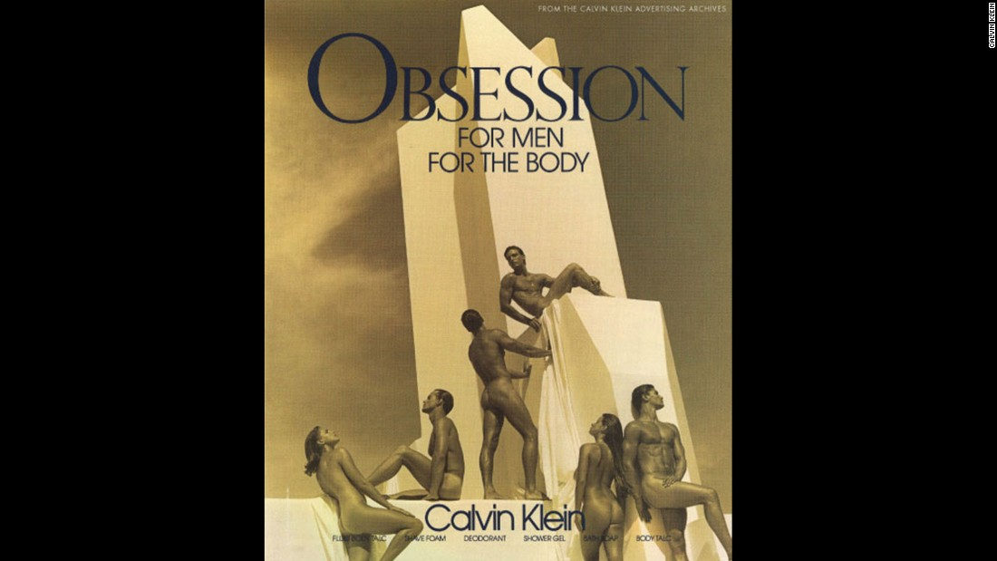 "The work of Bruce Weber in collaboration with Calvin Klein is frequently <a href=""https://books.google.com.hk/books?id=wmYI5fIvXy8C&pg=PT27&lpg=PT27&dq=bruce+weber+homosxuality&source=bl&ots=NCw-1drQac&sig=SNcotOs_U9WYg71lUgAzb-J_OLg&hl=en&sa=X&ved=0CDEQ6AEwBGoVChMI1LC8wKCKyQIVhxSUCh1ulwQJ#v=onepage&q=bruce%20weber%20homosxuality&f=false"" target=""_blank"">cited</a> for introducing a ""breakthrough"" in advertising by introducing subtle homoerotic themes. Above in an advertisement for Calvin Klein: Obsession, from 1992."