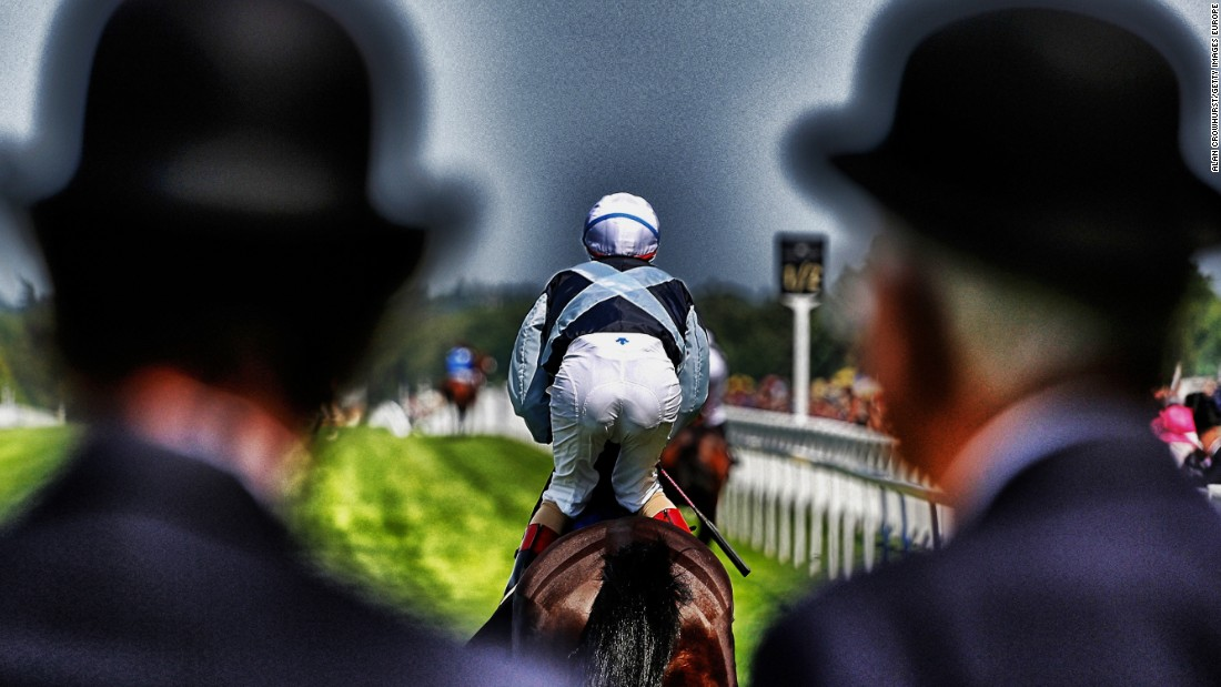 It's one of Britain 59 racecourses, which offer a unique perspective of Britain's countryside and cities.