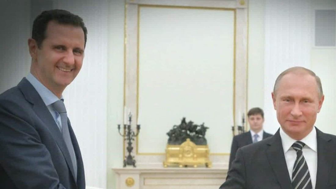 Syrian President Assad makes surprise visit to Moscow for talks with Putin