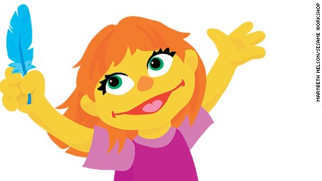 'Sesame Street' adds Julia, an autistic character, to its cast