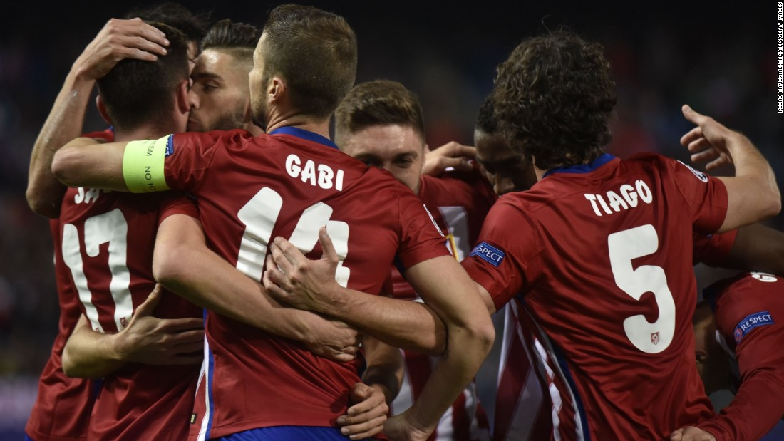 Atletico Madrid cruised to a 4-0 win over Astana of Kazakhstan. Saúl Ñíguez, Jackson Martínez, Óliver Torres and an own-goal by Denys Dedechko sealed the points.
