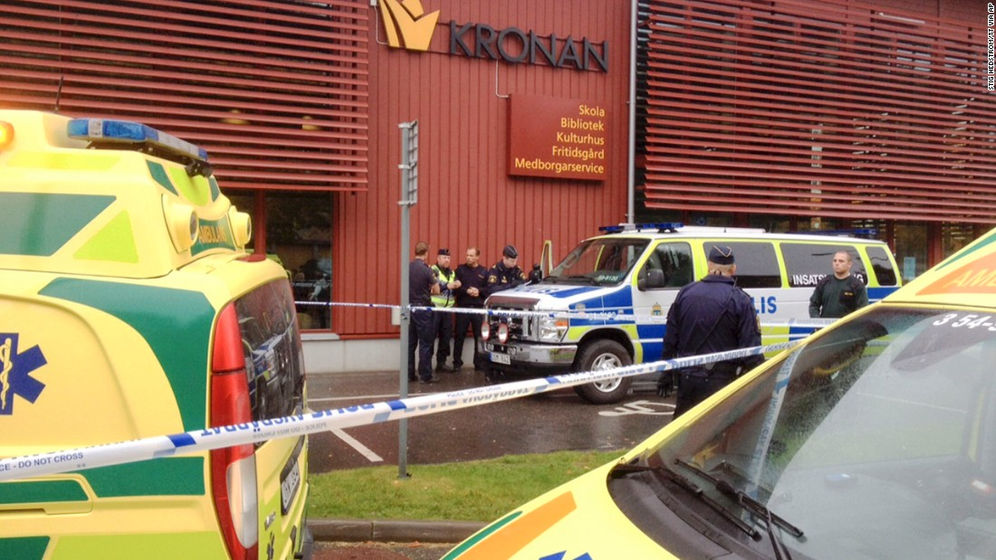 Police: Racism was motive for deadly Swedish sword attack
