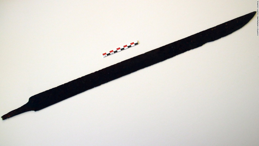 1,200-year-old Viking sword discovered by hiker