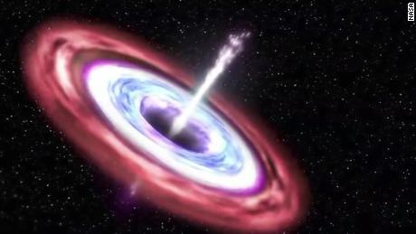 See black hole shred passing star