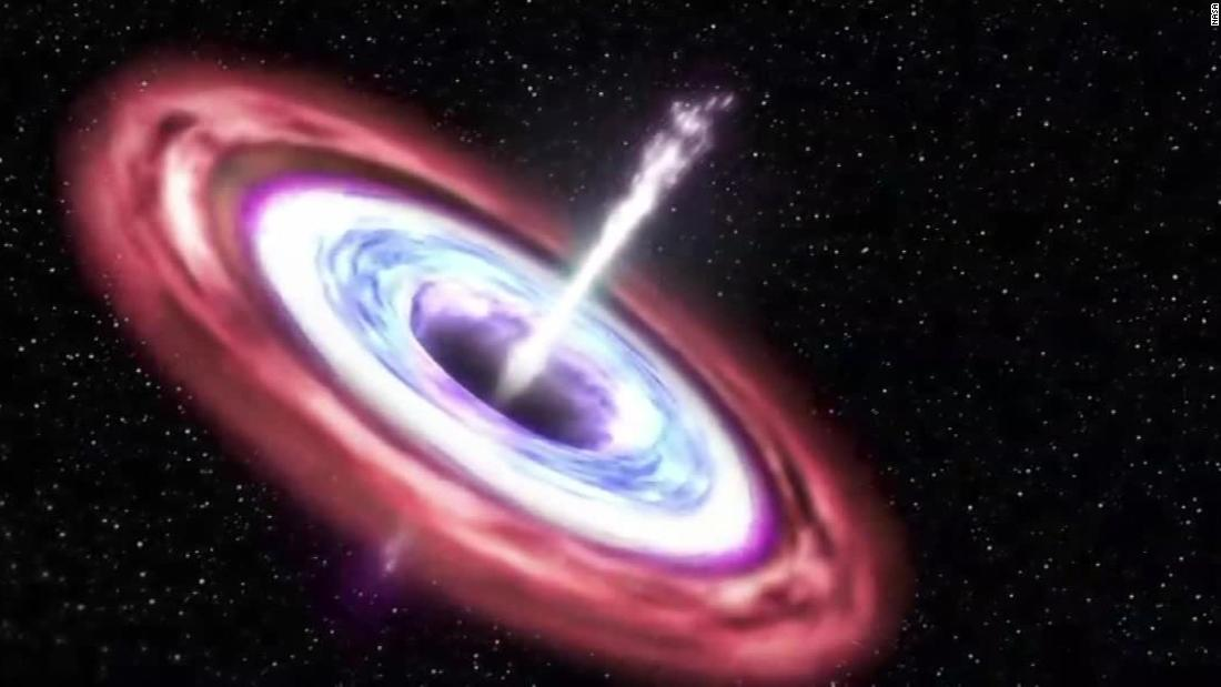 Astronomers capture supermassive black hole as it eats passing star