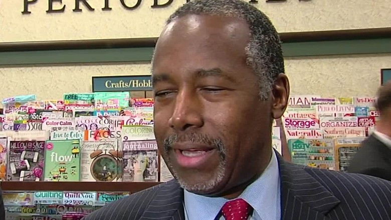 Carson tops Trump in Iowa poll