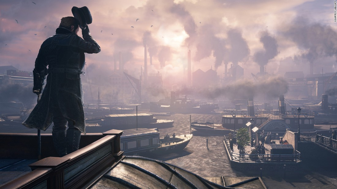 The new version of this popular action-adventure series takes place in Victorian England during the time of the Industrial Revolution. Players control twin assassins while navigating the city of London in 1868. List price:  $59.99.