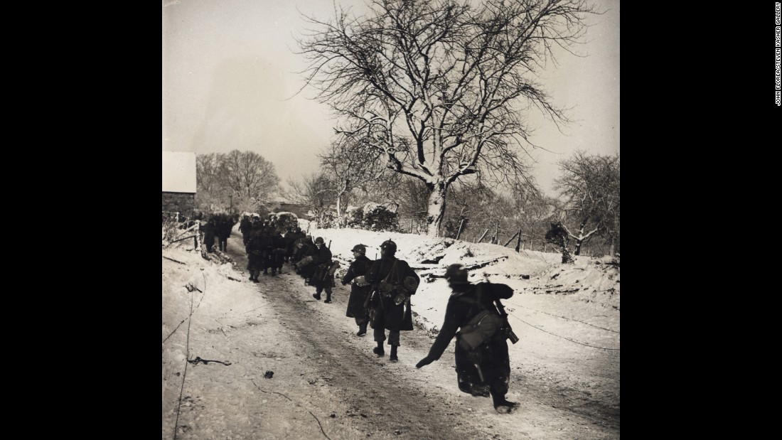 Battle of the West goes on in the snow in December 1944.