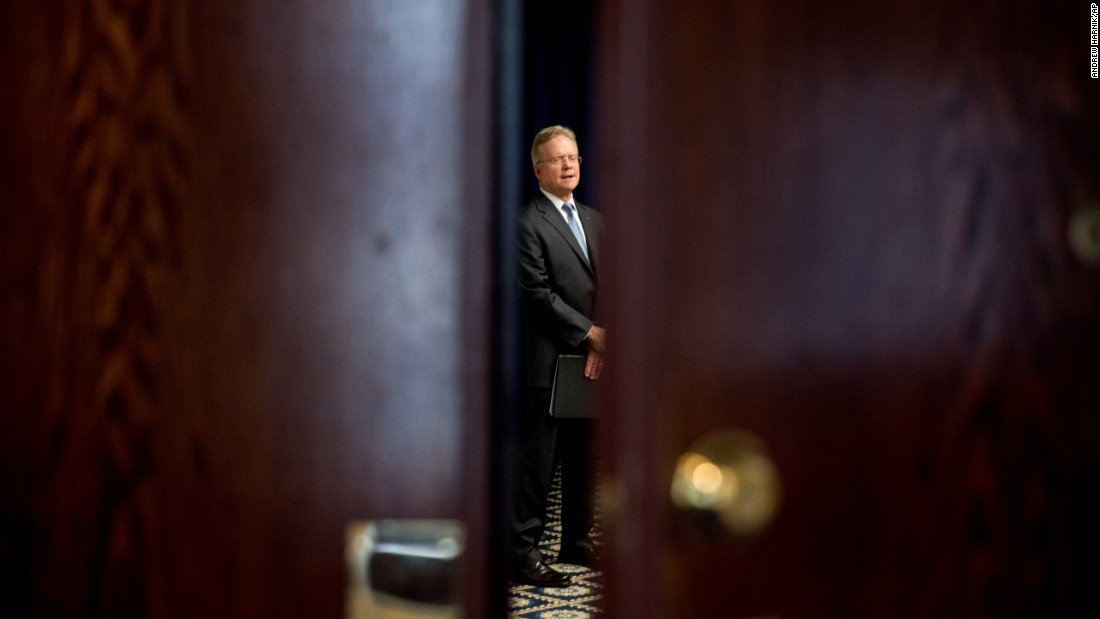 "Former U.S. Sen. Jim Webb waits in a side room Tuesday, October 20, before announcing <a href=""http://www.cnn.com/2015/10/20/politics/jim-webb-2016-election-drops-out/"" target=""_blank"">that he would no longer seek the Democratic Party's nomination</a> for President. He told reporters in Washington that he would consider an independent bid."
