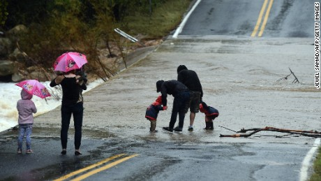 Torrential rain continues to fall in Texas