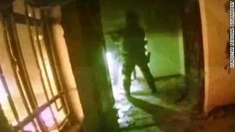 Video reportedly shows raid against ISIS