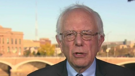 Sanders responds to criticism from veterans leader