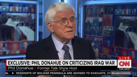 Phil Donahue on ciriticizing Iraq War_00034430