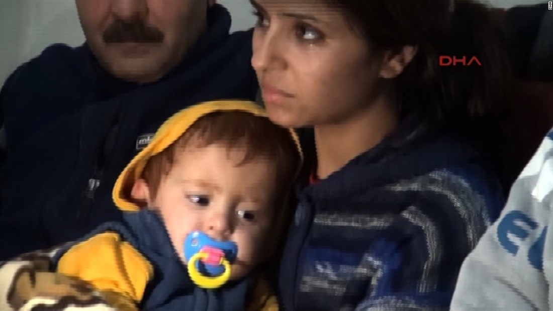 In October, fishermen rescued an 18-month-old boy from the Aegean Sea after a boat carrying refugees capsized.