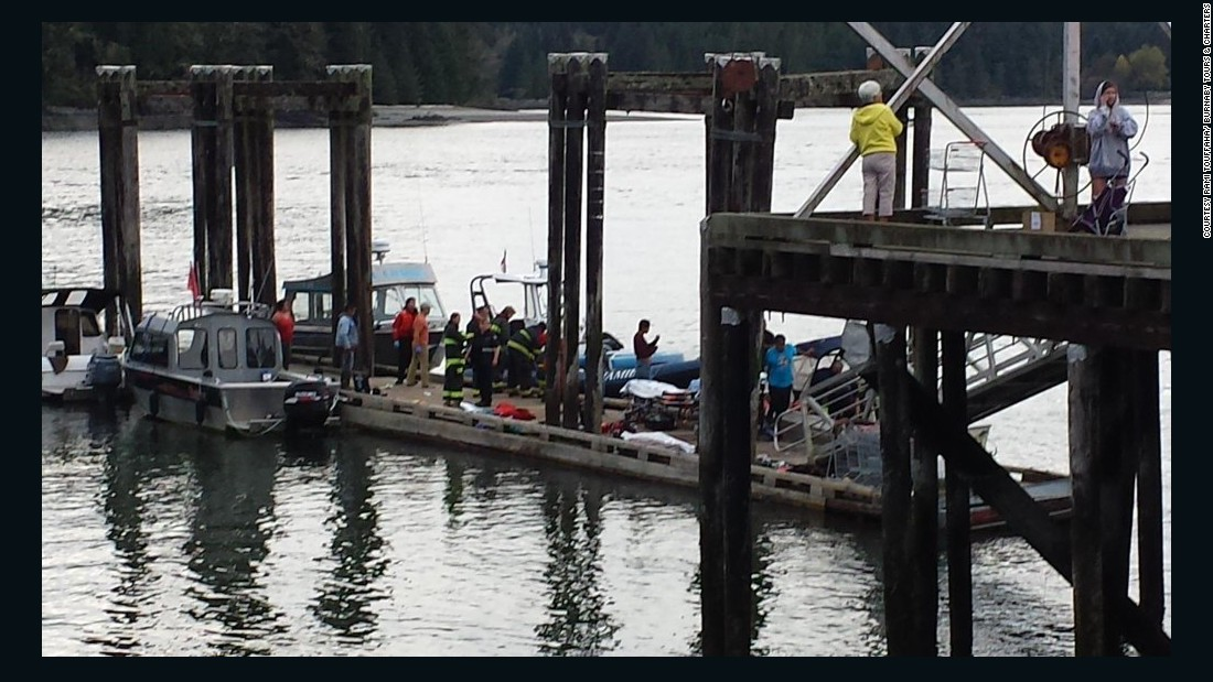 5 Dead As Whale Watching Boat Sinks Off British Columbia Cnn