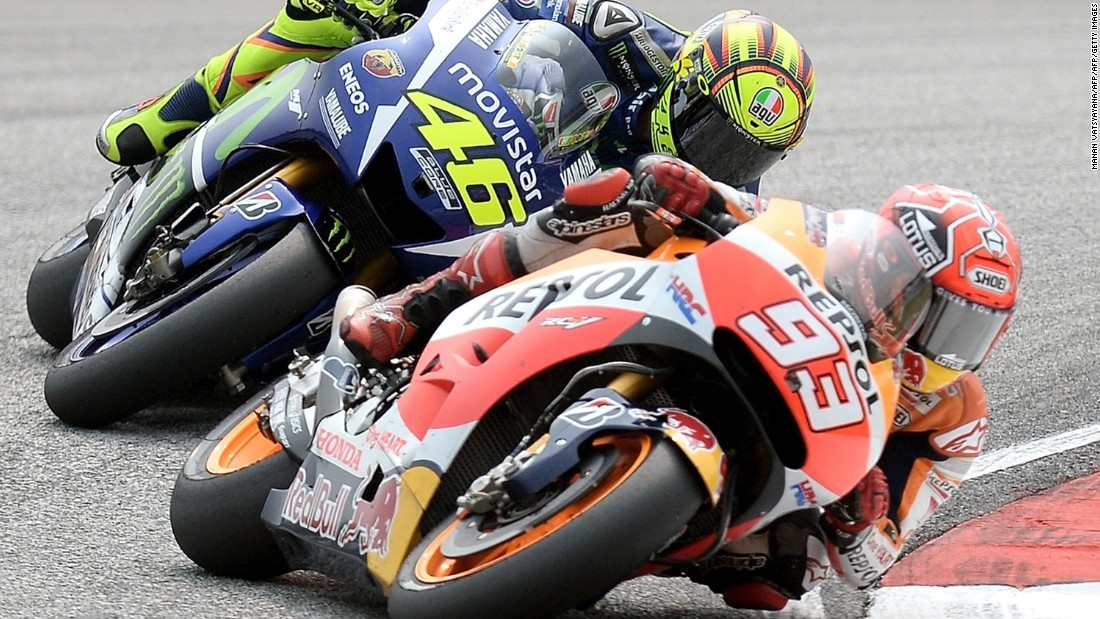 Rossi was given three penalty points on his race license by Race Direction, and crucially will start the final race of the season in Valencia from the back of the grid.