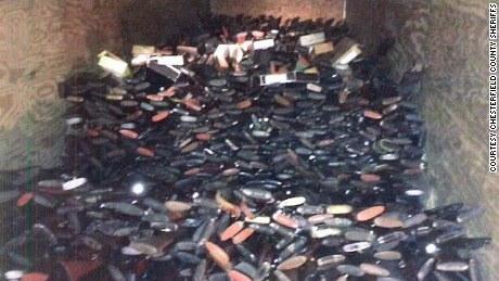 Thousands of guns were seized from a South Carolina home. Investigators believe many of them were stolen.
