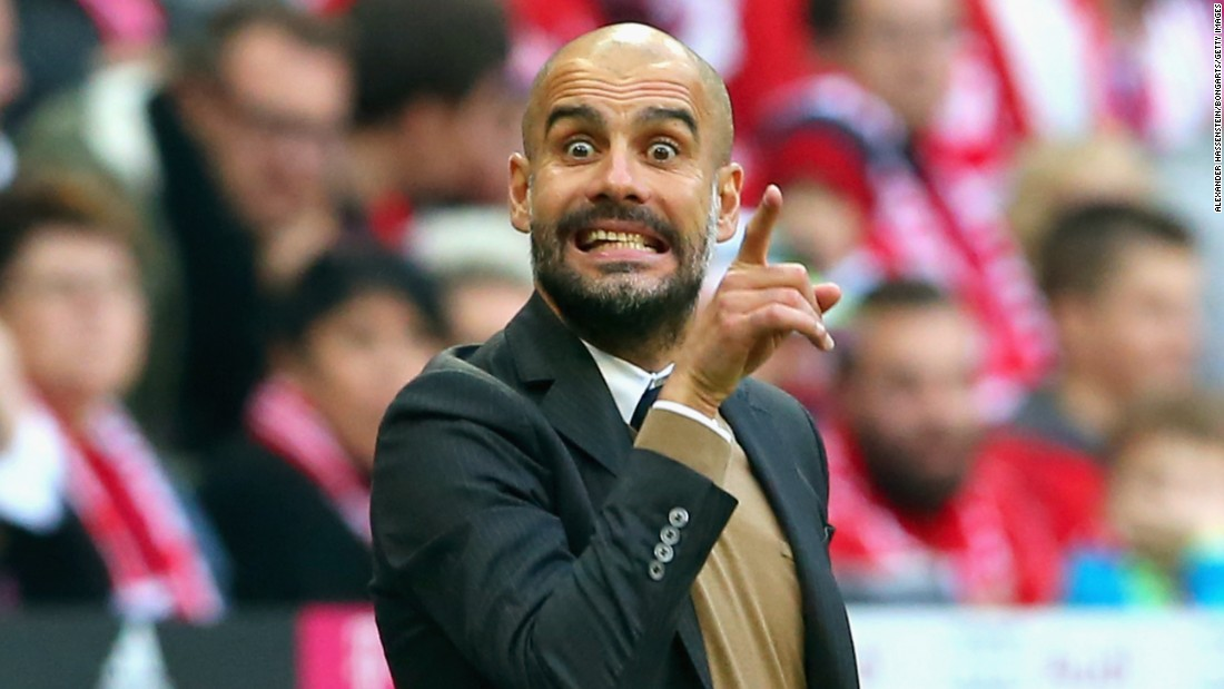 Pep Guardiola, head coach of Bayern Munich, has been linked with a move to Chelsea at the end of this season.