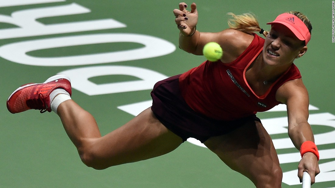 Sixth seed Kerber, who would have reached the semis with victory over Muguruza, faces Safarova in her closing match.