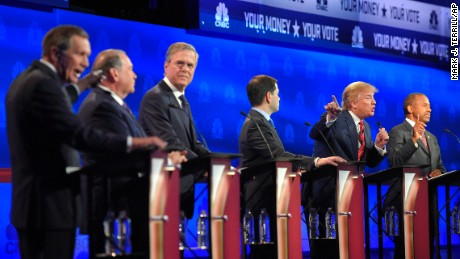 Republican debates in Colorado