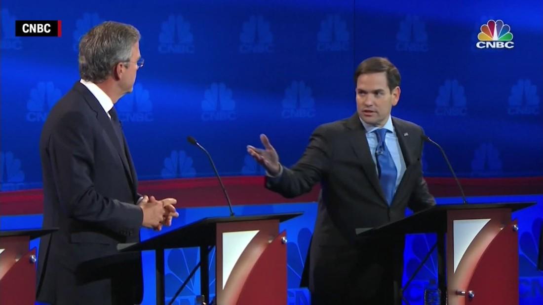 Republican debate: Marco Rubio hobbles Jeb Bush