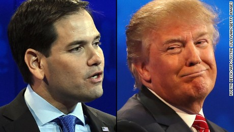 Marco Rubio slams Donald Trump over 'KKK' comments