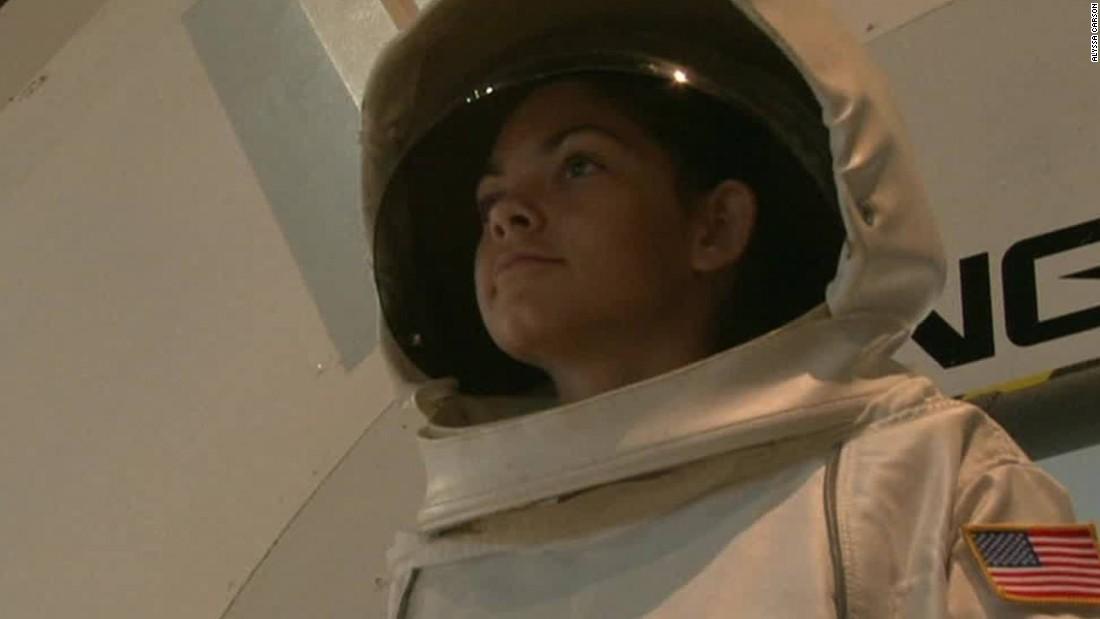 Esta es la niña que quiere ser la primera 'marciana' - CNN ...
