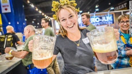 Held in September 2015, this year's Great American Beer Festival hosted more than 60,000 attendees, plus 750 breweries presenting 3,500 beers. It's the centerpiece of Denver's beer year.