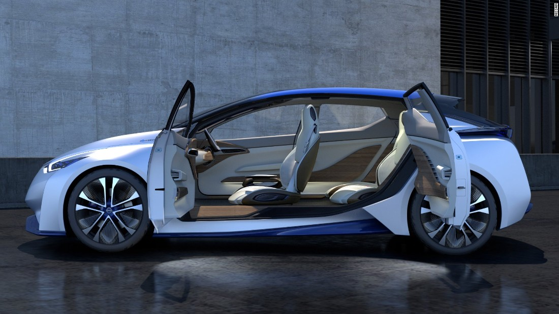 The next Leaf EV is expected to get the IDS' profile - but not its radical door arrangement.