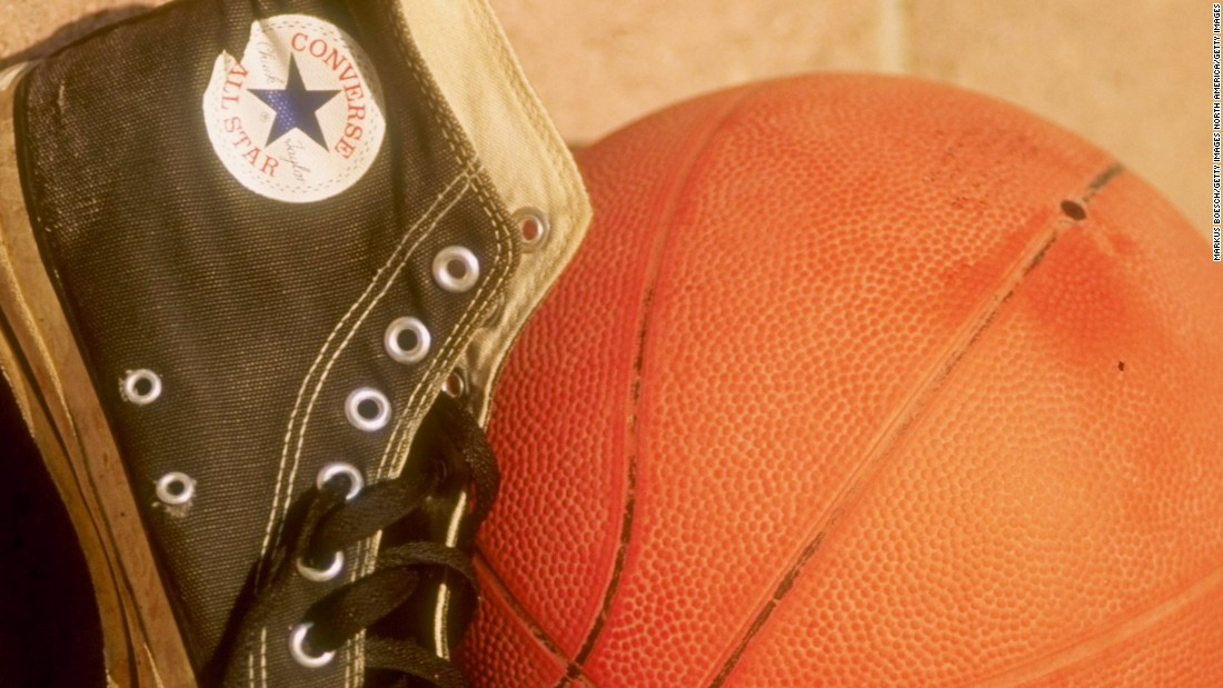 In earlier days, the craze for Converse shoes helped to boost basketball's popularity in France.