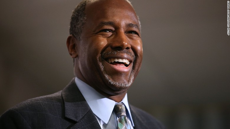 Ben Carson ahead of Donald Trump in new poll