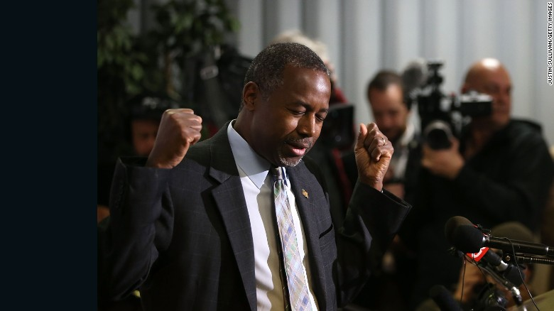 Ben Carson defends his views on Egyptian pyramids