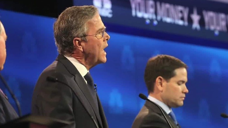 Jeb Bush: Marco Rubio has 'given up' in the Senate