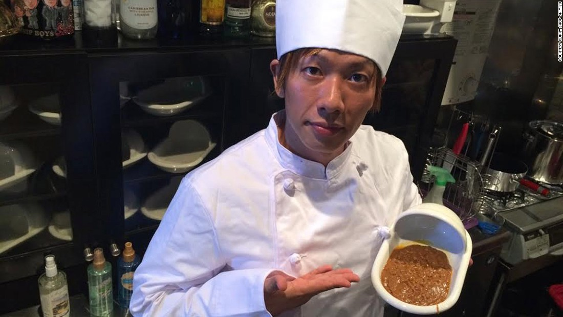 Poo curry Dish at Japanese restaurant mimics feces  CNN Travel