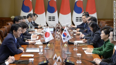South Korea, China and Japan hold talks