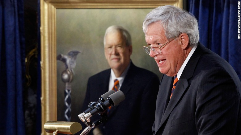Ex-lawmakers write letters in support of Dennis Hastert