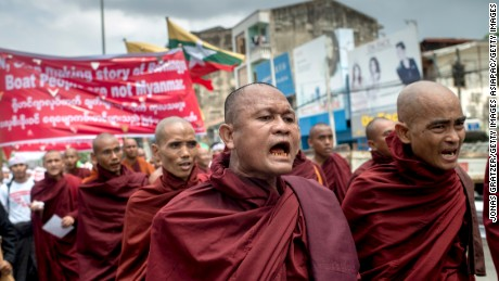 Pattern of violence between Buddhists, Rohingya