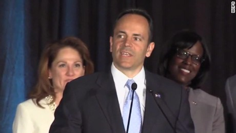 election day 2015 Matt Bevin kentucky governorship sot_00004019.jpg