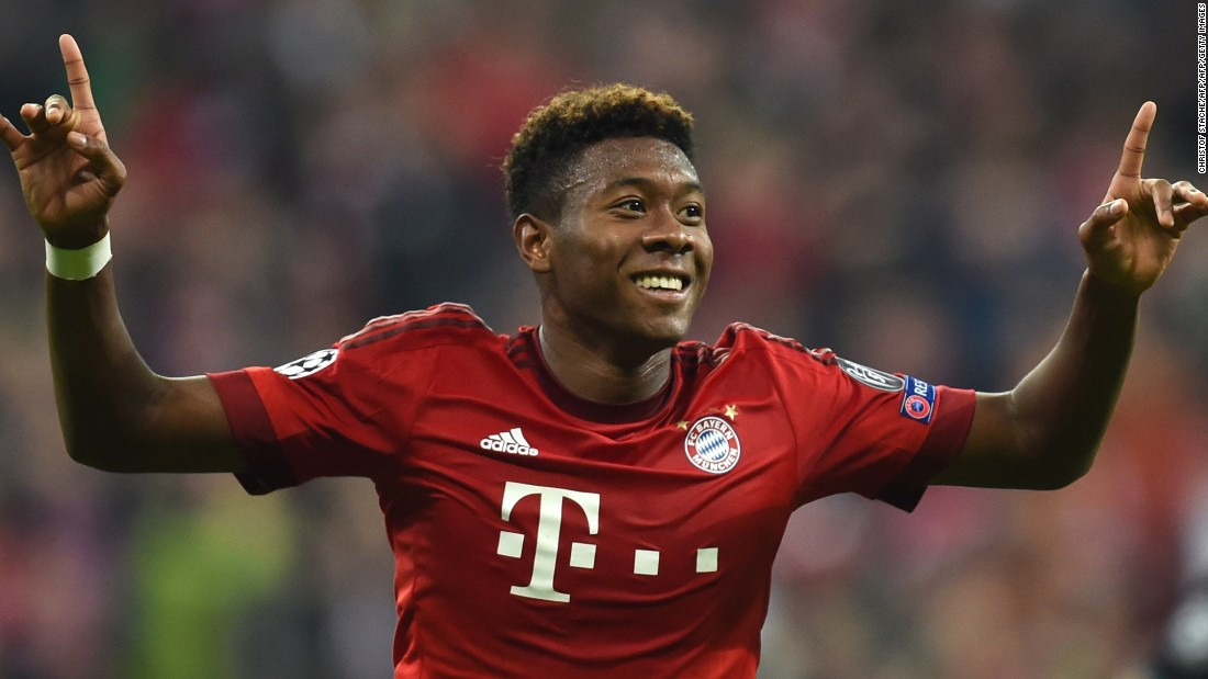 The 23-year-old Bayern star edged this one with both his teammate Juan Bernat and Barcelona's Jordi Alba also gathering votes. Alaba's pace, power and ability to score sensational goals, as he did against Arsenal earlier in the competition, gives him the edge.