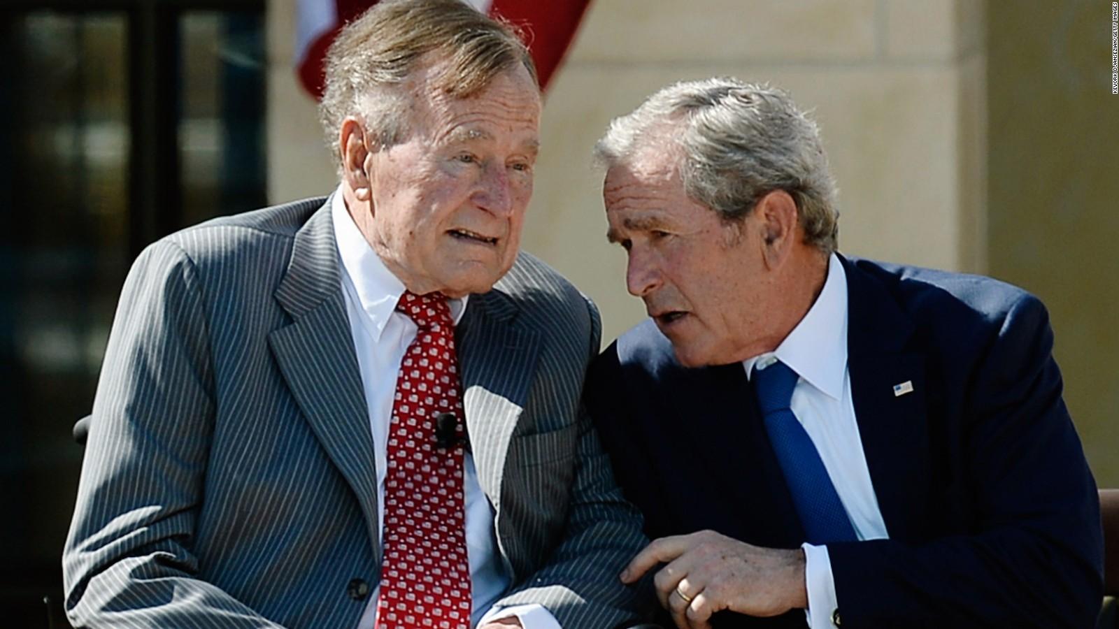 George H W Bush Calls Trump A Blowhard Cnn Video