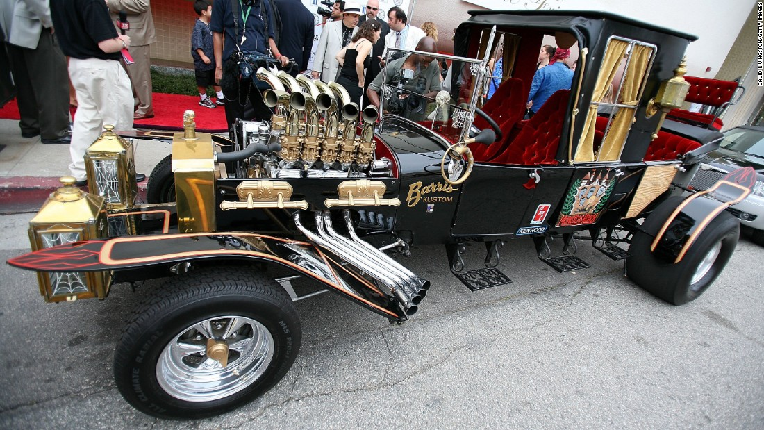 "The Munster Koach was constructed from three Model T's, according to Barris. The car was used on the TV show ""The Munsters."""