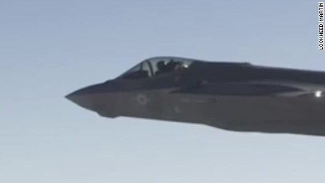 See F-35 fire guns on jet's wings