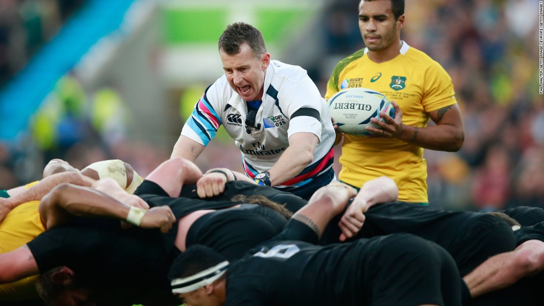 Nigel Owens is known for his no-nonsense refereeing and was chosen to run the rule over the 2015 World Cup final between New Zealand and Australia but the gay referee says his biggest challenge was accepting his sexuality.