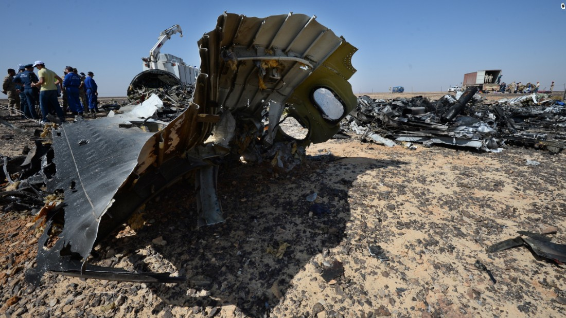 Egypt: U.S. can join investigation of Russian plane crash