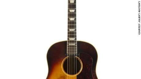 john lennon 39 s acoustic guitar sells for 2 4 million cnn. Black Bedroom Furniture Sets. Home Design Ideas