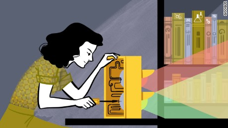 Hedy Lamarr gets inventive salute from Google Doodle