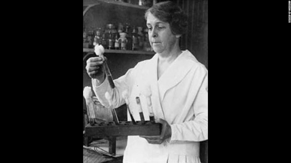 Alice Catherine Evans (1881-1975) was a U.S. microbiologist who became the first female scientist to be permanently hired by the US Department of Agriculture (USDA). Her work involved investigating bacteriology in milk and cheese. In 1918 she identified a bacterial infection carried by cows that could cause undulating fevers in humans. Soon after, milk pasteurization laws were enforced.