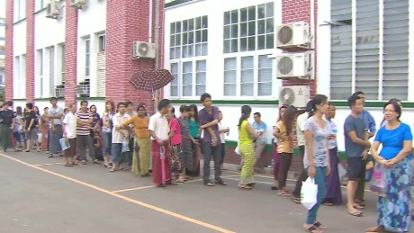 Vote count under way in Myanmar's landmark election