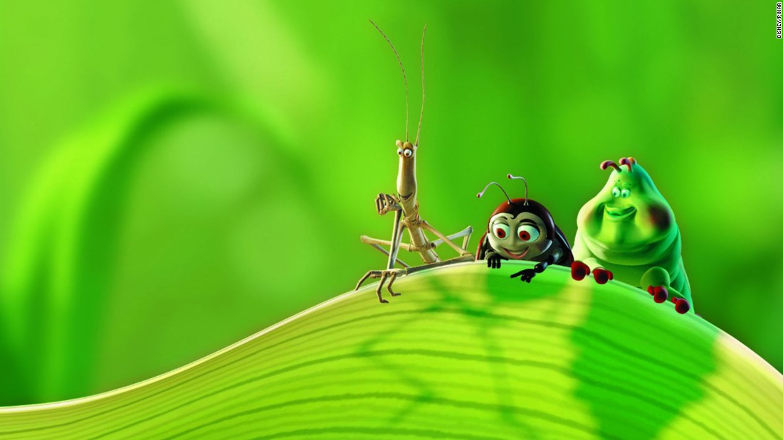 "The second Pixar feature imagined a natural world inhabited by a variety of talking insects, voiced by such stars as Kevin Spacey, Julia Louis-Dreyfus and Denis Leary as a hot-tempered ladybug. The movie was in production and hit theaters around the same time as ""Antz,"" a similar film from rival DreamWorks, sparking a feud between the two projects. Worldwide box office: $363 million."